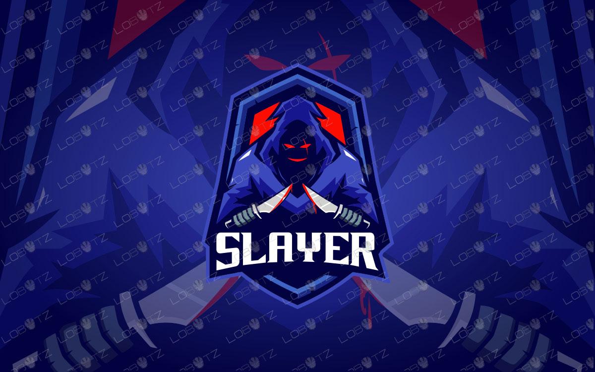 Slayer Mascot Logo | Slayer eSports Logo | Slayer Mascot Logo