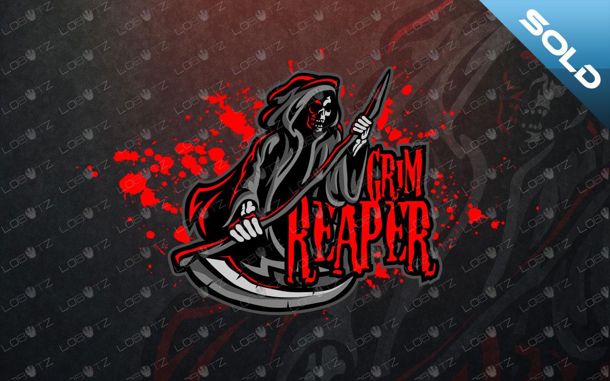ReapereSports Logo| ReaperMascotLogo premade logo