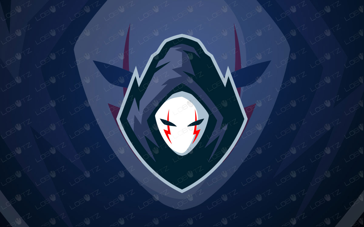 Ghost Mascot Logo   Ghost eSports Logo For Sale