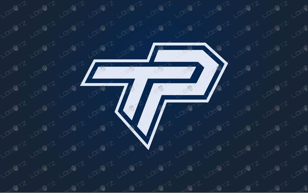 Clan Logo | Team Logo |TP Lettermark Logo For Sale