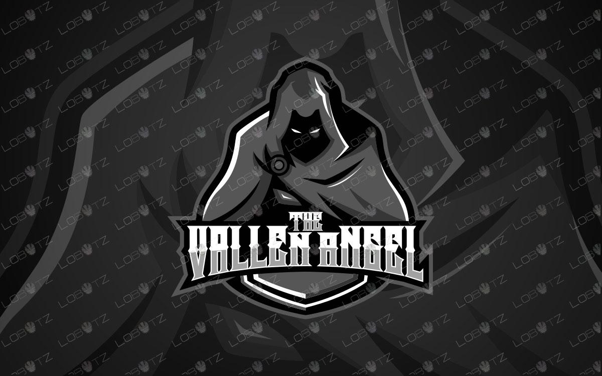 Ghost Phantom Mascot Logo | Assassin Mascot Logo For Sale