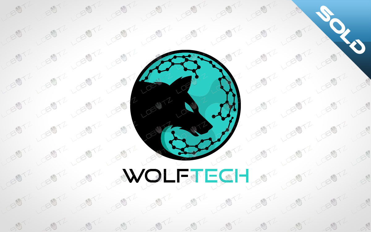 wolf logo for sale premade logo
