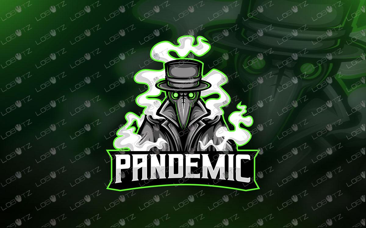 Plague Doctor Mascot Logo For Sale   Plague Doctor eSports Logo