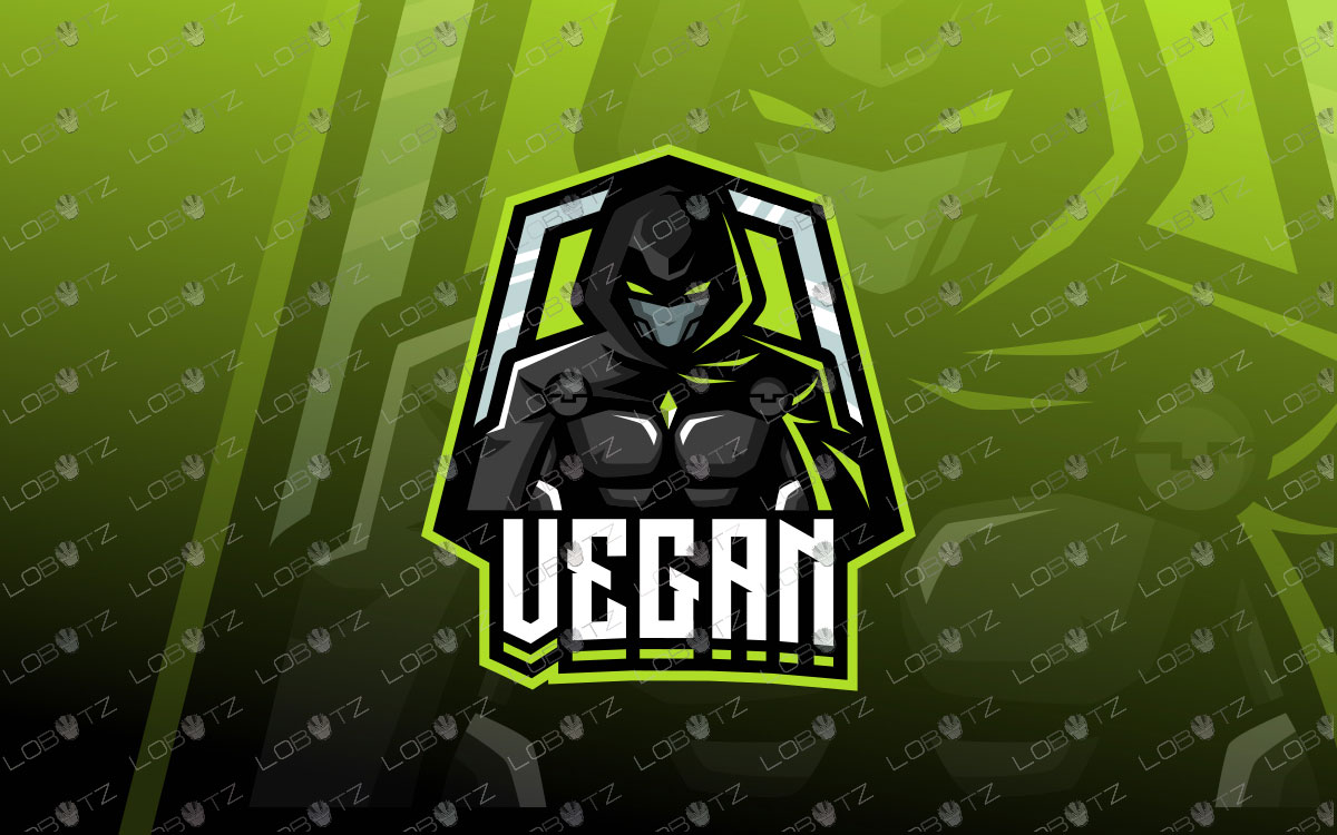 Premade Assassin Mascot Logo For Sale | Assassin eSports Logo