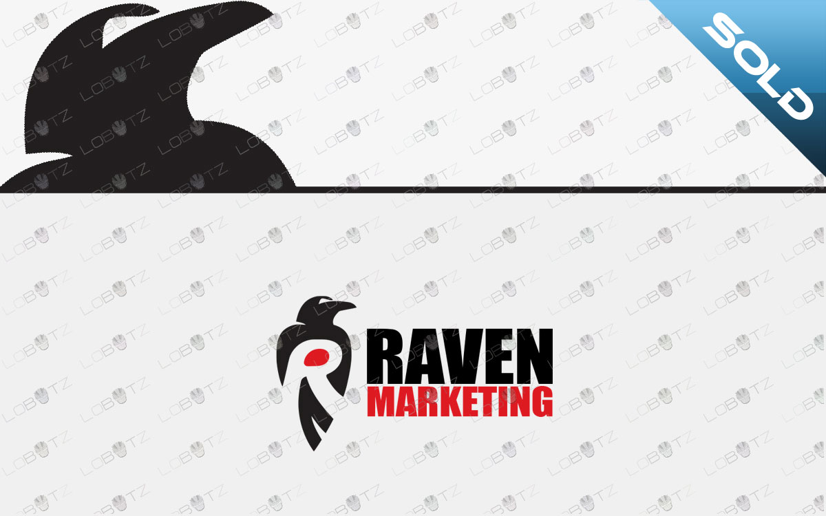 raven logo for sale