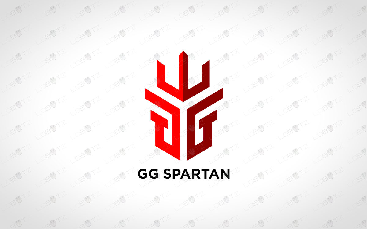 Awesome Spartan Head Logo For Sale | Spartan Logo