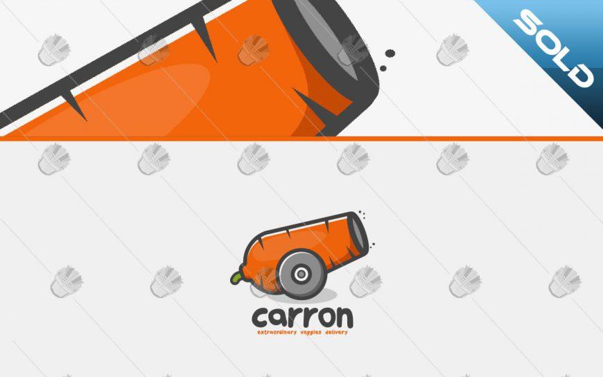 carrot logo creative carrot cannon logo