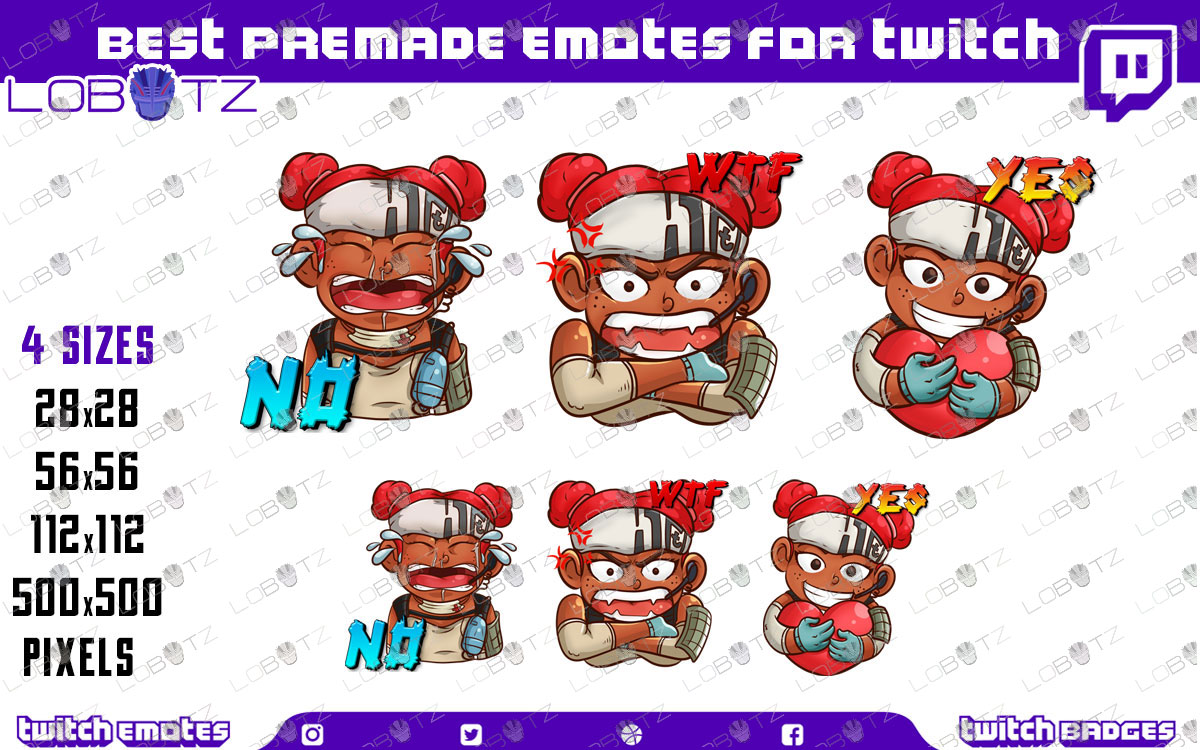 apex legends emotes apex legends twitch emotes apex legends lifeline emotes for twitch