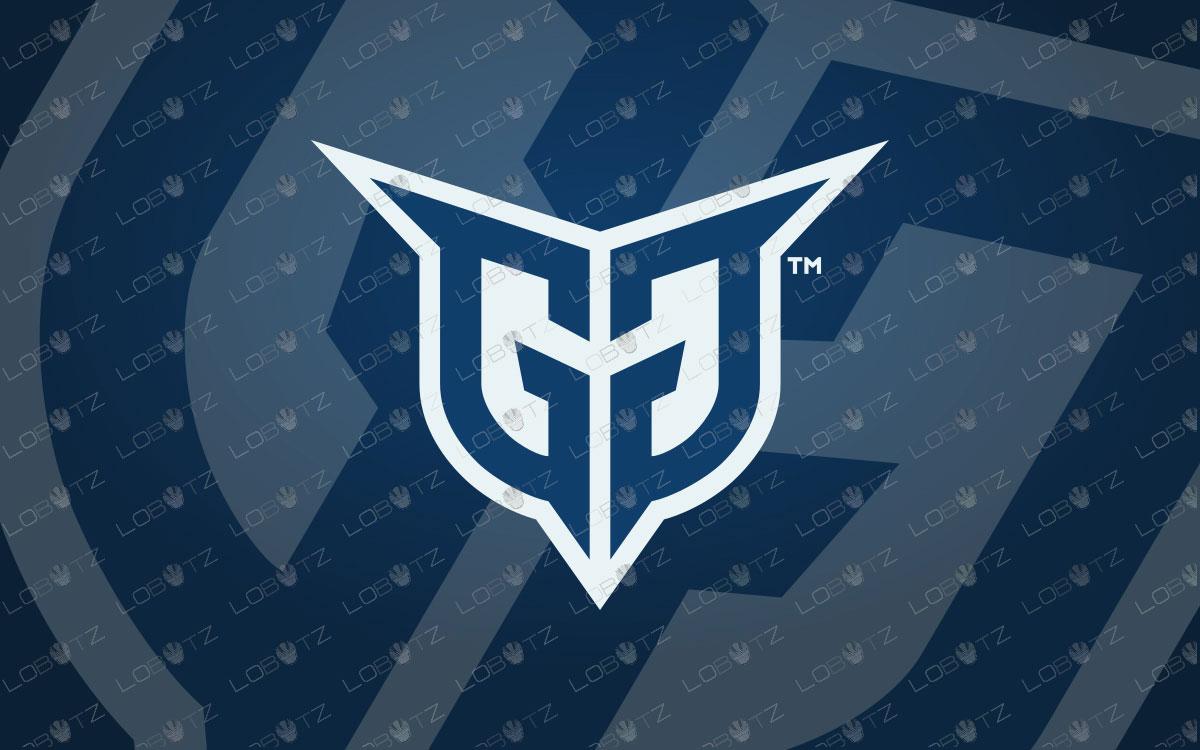Letter GG Logo | Premade Letter GG Mascot Logo For Sale