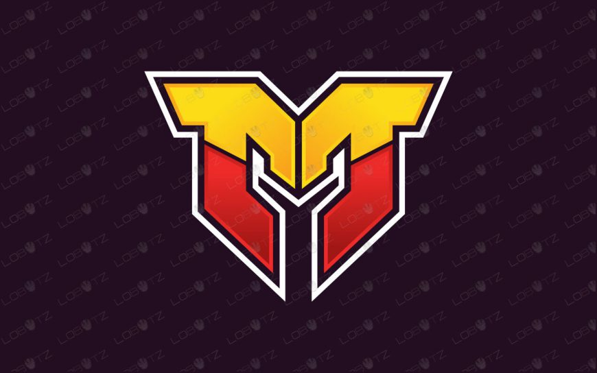 Letter M Mascot Logo For Sale | Clan Logo | Team Logo