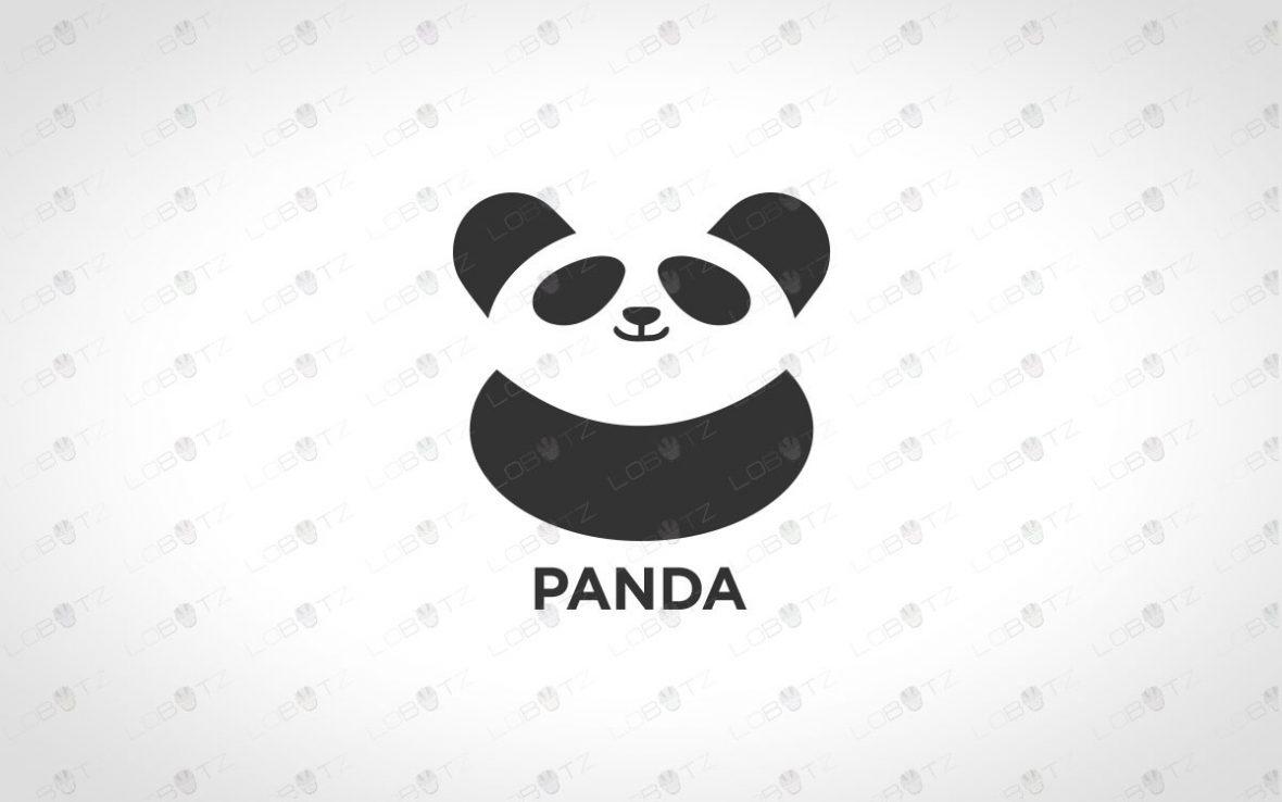 panda logo for sale panda logo for business