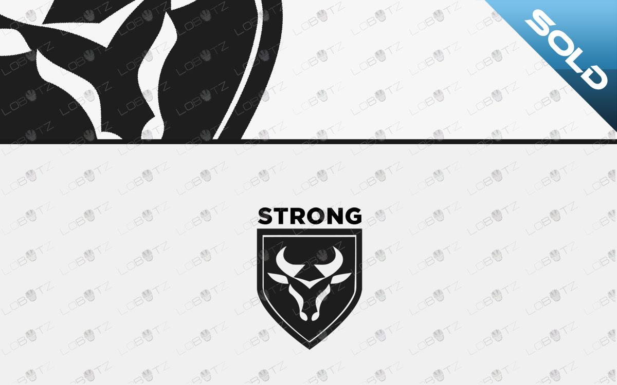 bull headlogo for sale bull logo