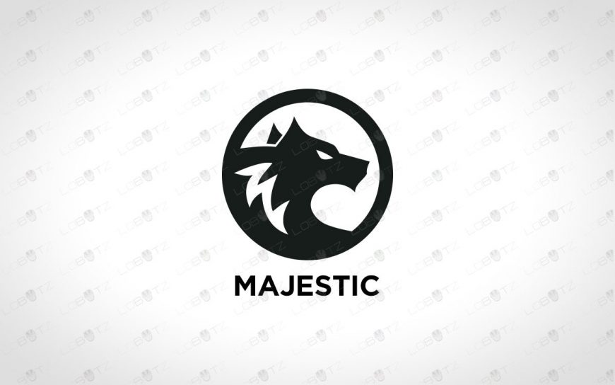 ReadyMade Wolf Logo For Sale | Premade Wolf Logo