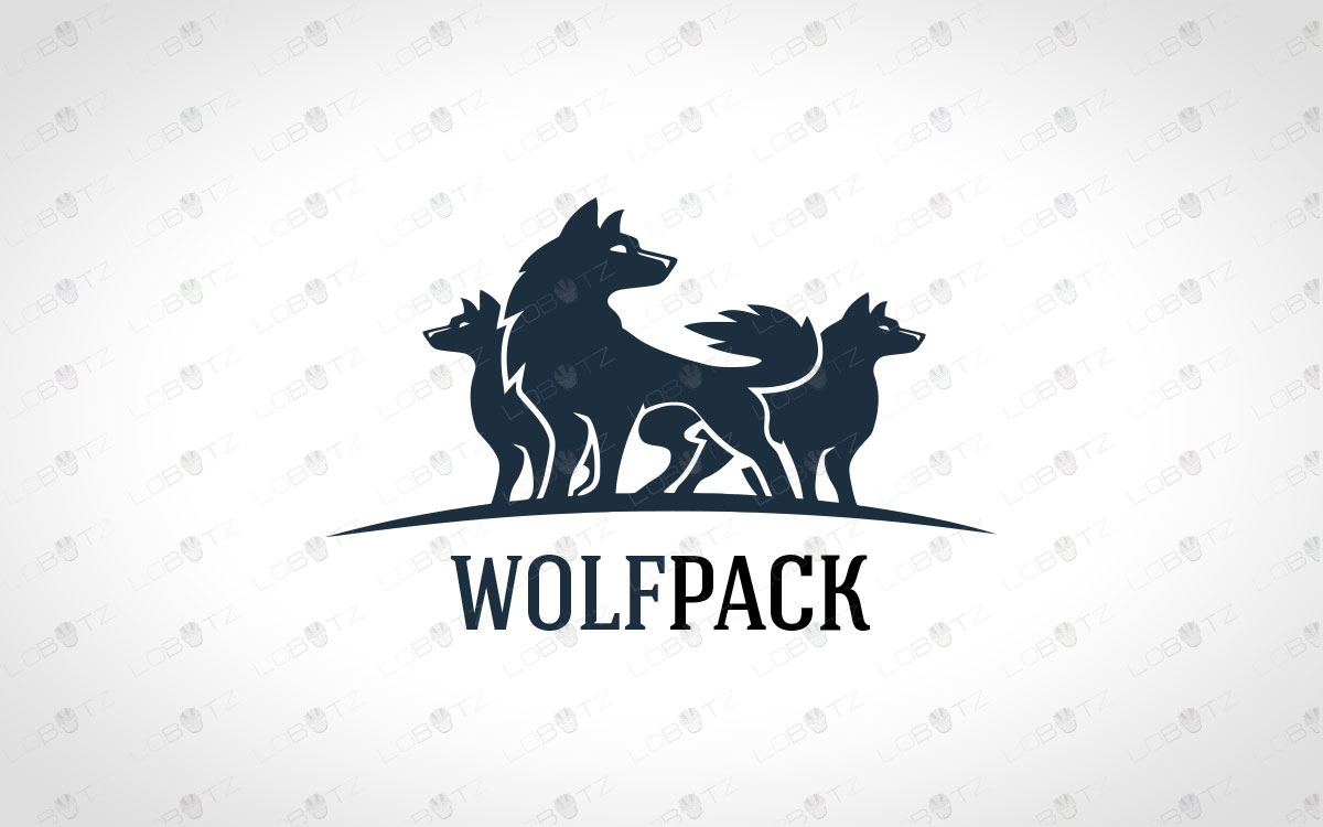 Wolf Logo For Sale | Creative Wolves Logo For Sale