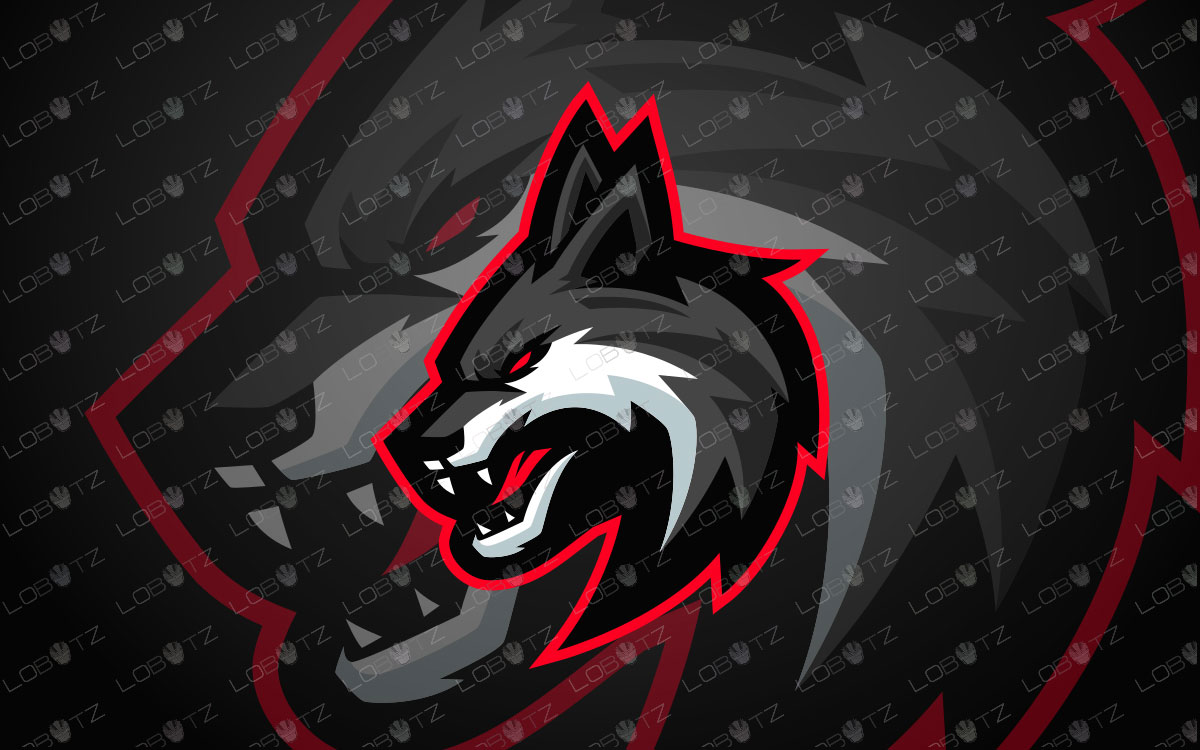 Wolf Mascot Logo | Wolves Mascot Logo For Sale