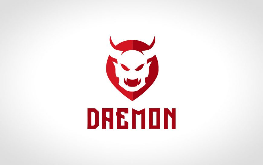 Premade Devil Logo For Sale | Evil Logo