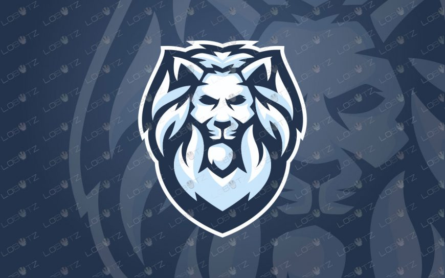 Lion Mascot Logo | Premade Lion Mascot Logo For Sale