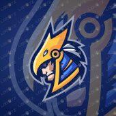 Majestic Horus Mascot Logo   Horus eSports Logo   RA Mascot Logo