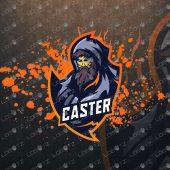 Wizard Mascot Logo For Sale | Sorcerer Mascot Logo