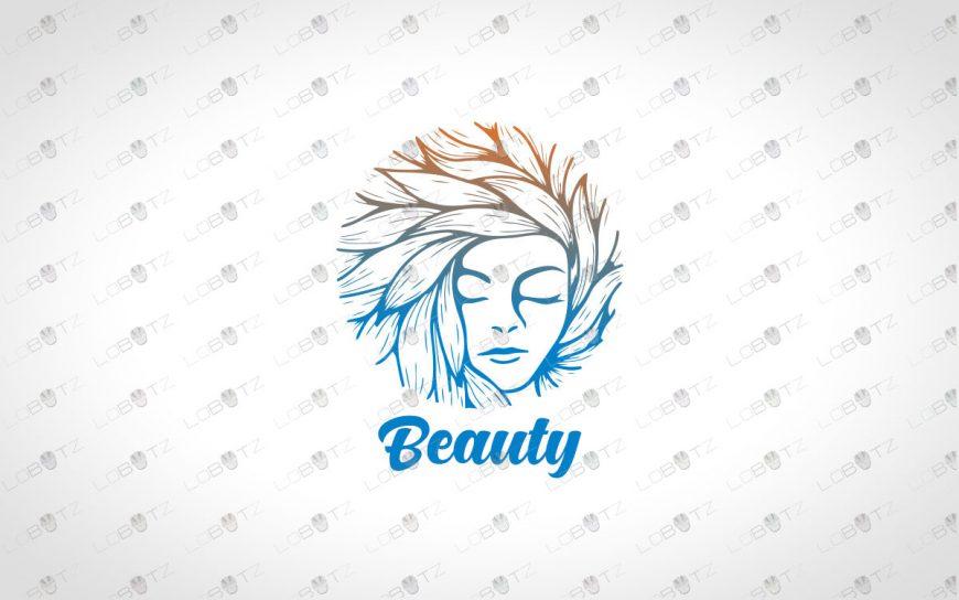 Beauty Logo | Beautiful Woman Face Beauty Logo For Sale