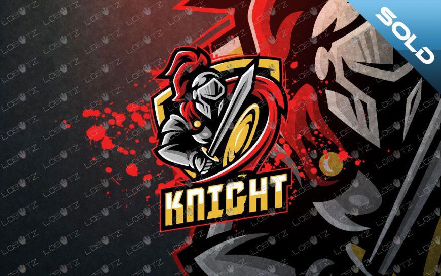 Premade Knight Mascot Logo | Knight eSports Logo For Sale