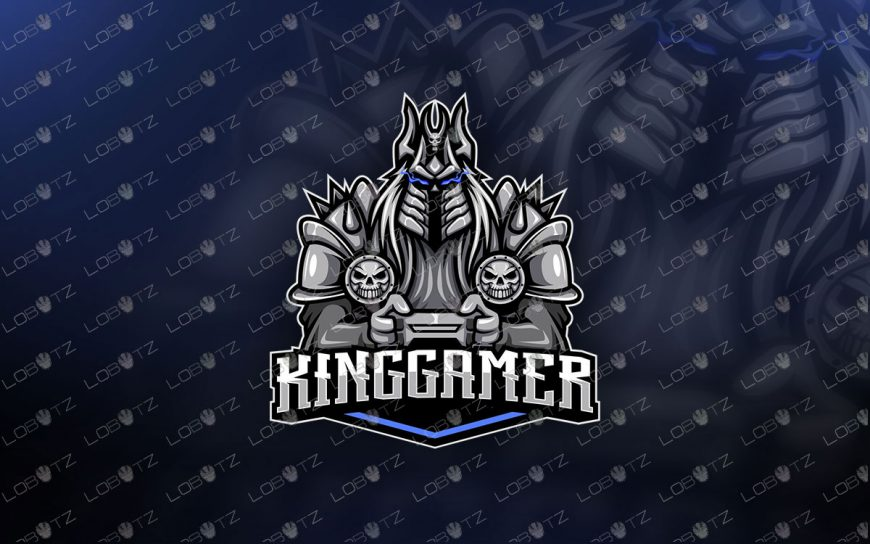 world of warcraft Lich King Gamer Mascot Logo For Sale