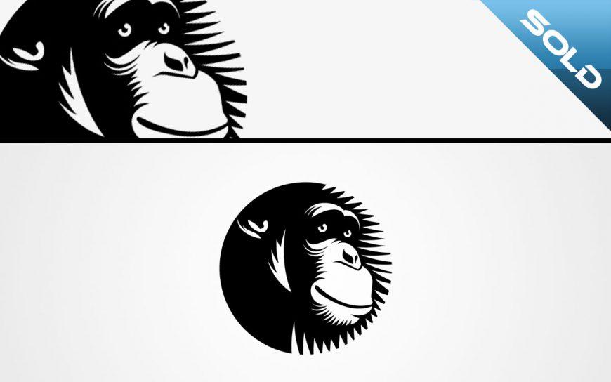 chimpanzee logo for sale