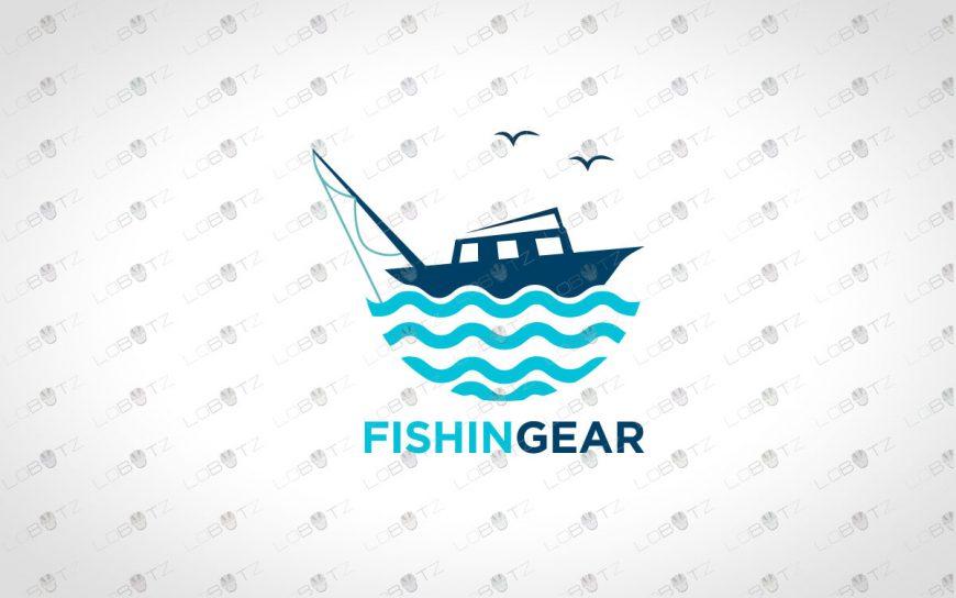 Fishing Logo For Sale | Yacht Logo For Sale | Travel & Tourism Logo