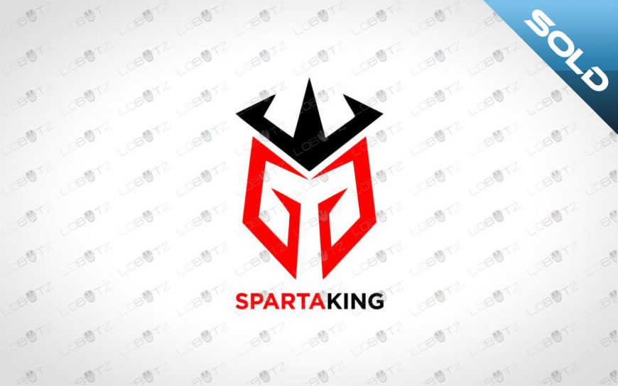 Awesome Spartan Head Logo For Sale | Letter GG Logo