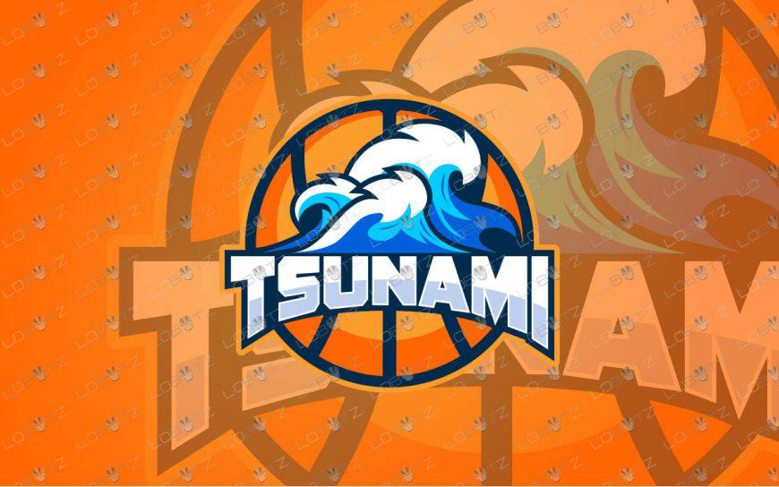 Waves Mascot Logo For Sale | Water Mascot Logo Premade Mascot Logos