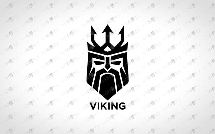 Minimalist Viking Logo For Sale | Premade Viking Logo