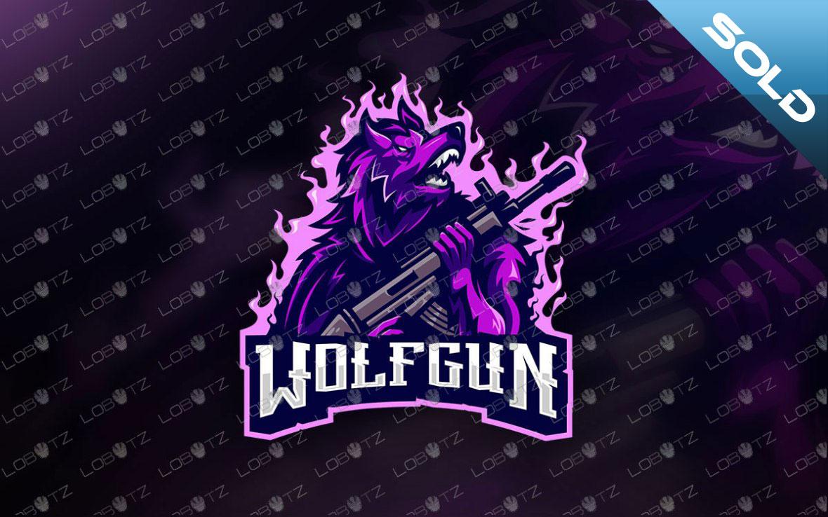 premade wolf mascot logo wolves esports logo
