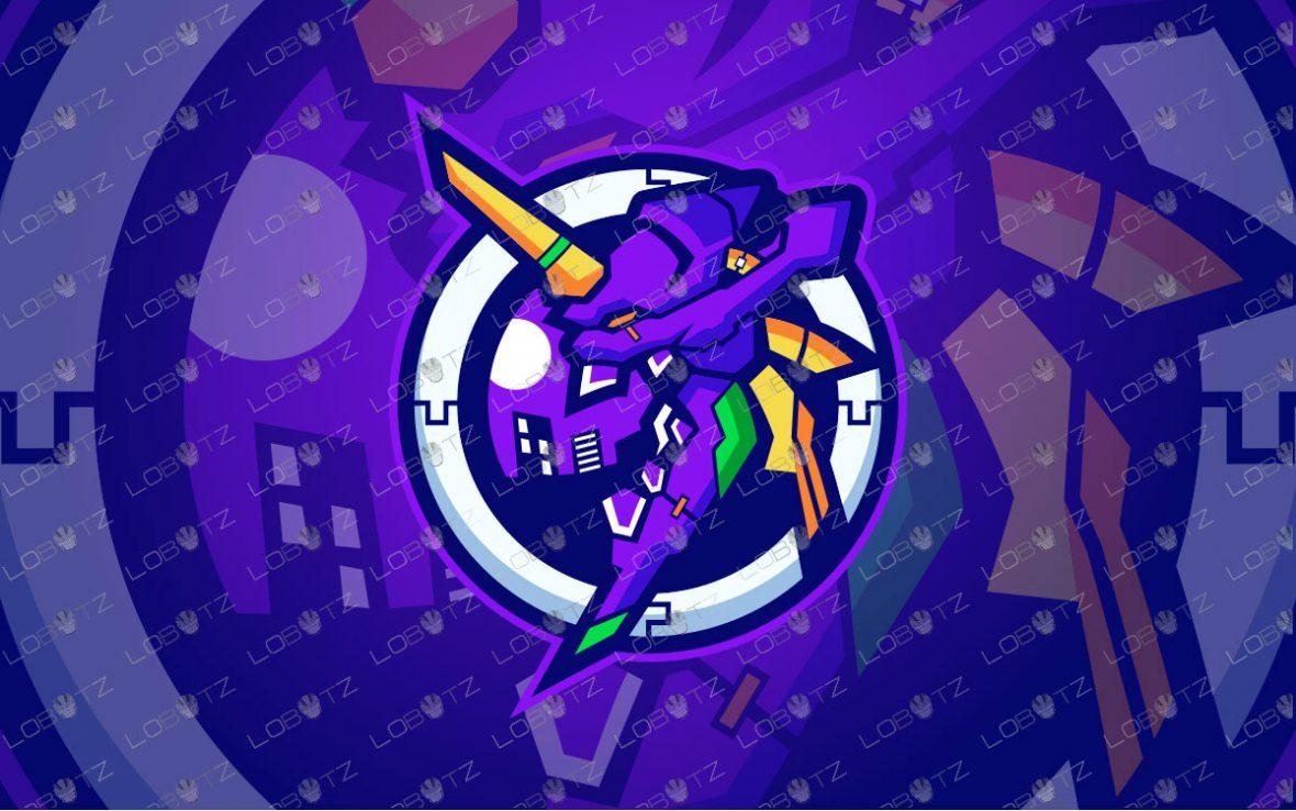 Premade Mascot Logo   Zeronic Mascot Logo For Sale