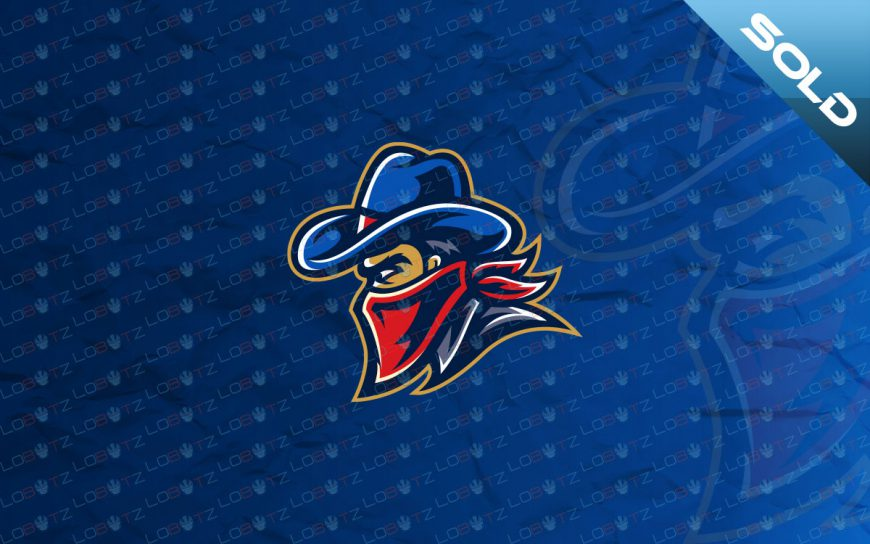 outlaw mascot logo for sale