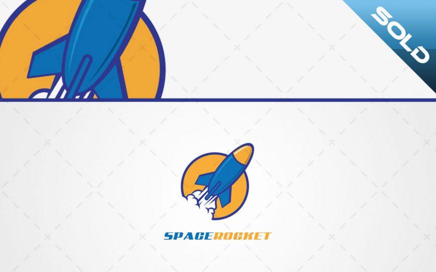 space rocket logo for sale