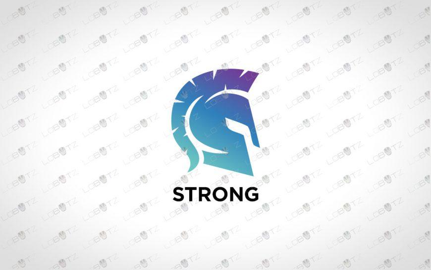 Spartan Logo For Sale | Premade Gladiator Logo