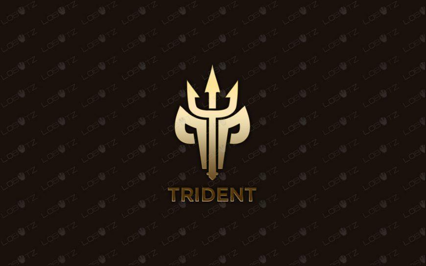 Trident Logo | Modern & Trendy Trident Logo For Sale