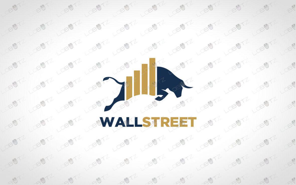 Trade Bull Logo For Sale | Strong Bull Logo
