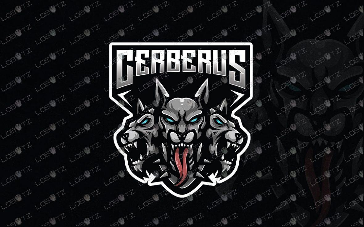 Cerberus Mascot Logo For Sale | Premade Gaming Logo