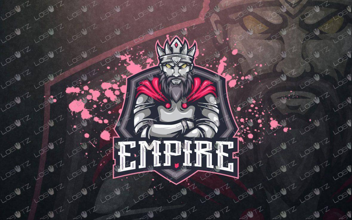 Gaming Logo   Premade King Mascot Logo