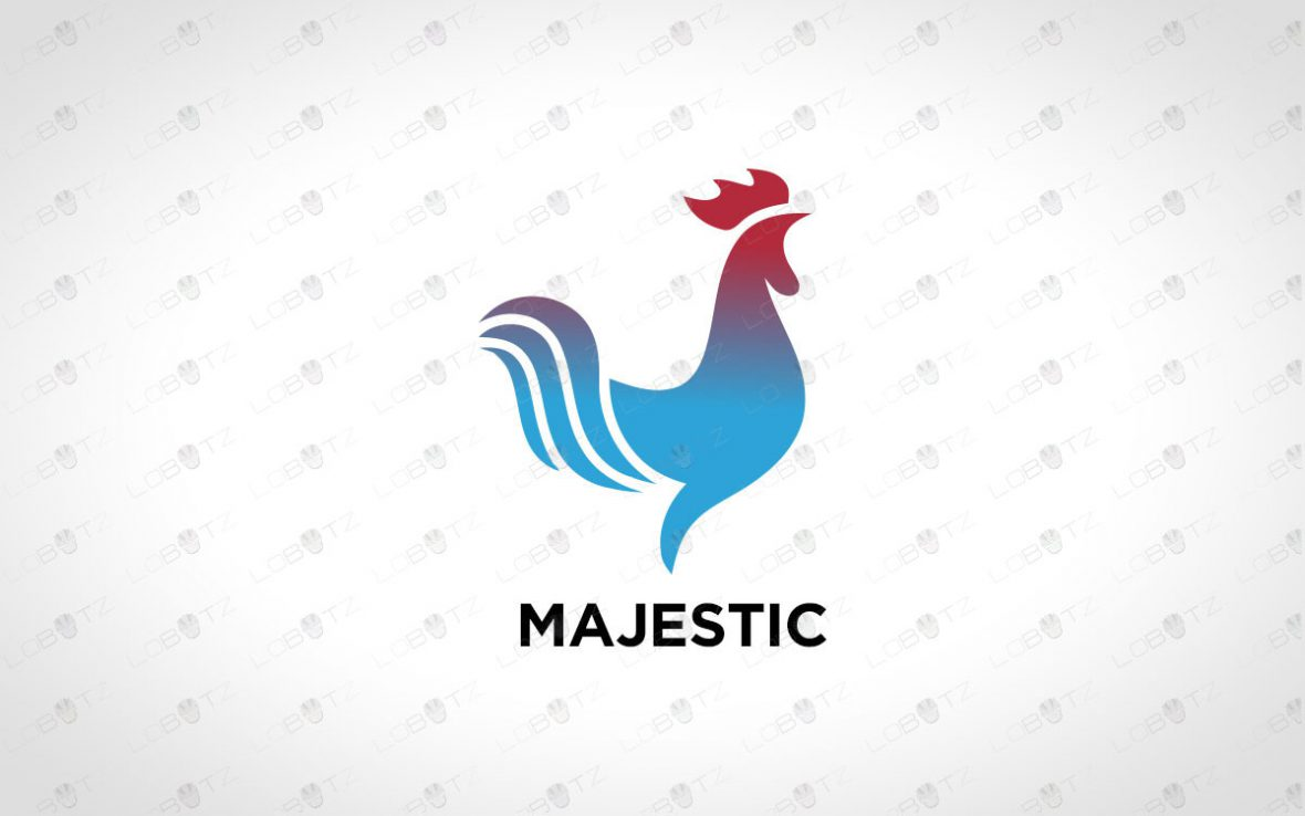 Rooster Logo For Sale   Premade Logos