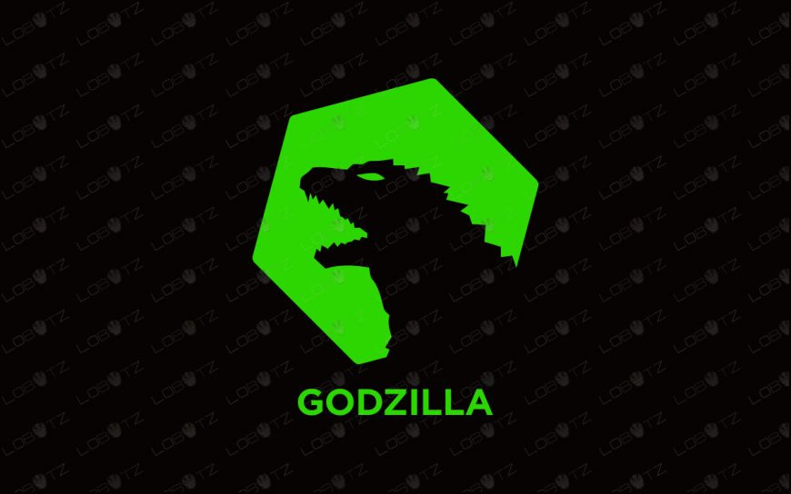 Premade Godzilla Logo For Sale
