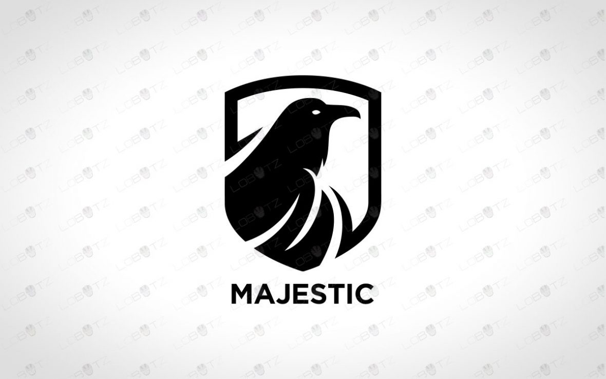 Modern & Creative Raven Logo For Sale