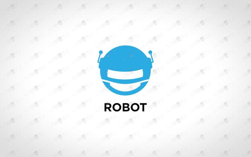 Modern Robot Head Logo For Sale Premade Logo