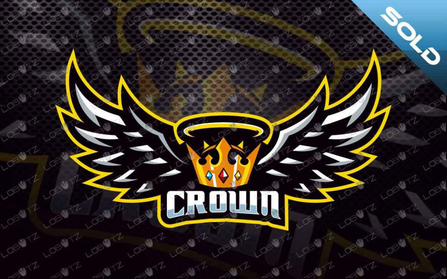 Crown Mascot Logo For Sale