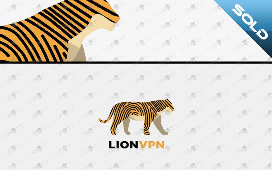 tiger logo for saleanimal fingerprint