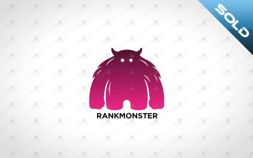 Monster Logo Cute Character Logo For Sale