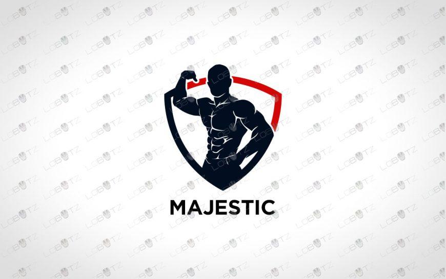 Gym Logo For Sale | Premade BodyBuilding Logo