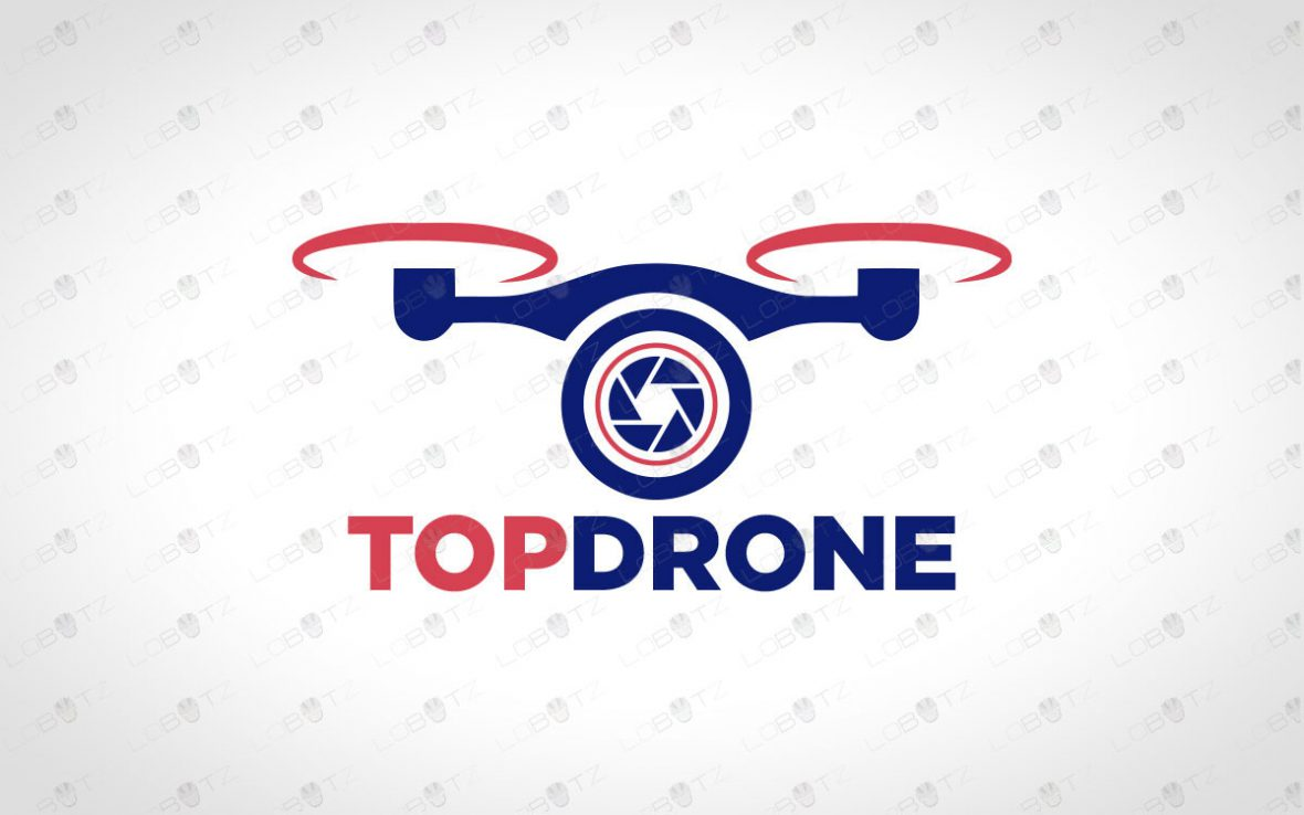 Premade Drone Logo To Buy Online   Modern Drone Logo