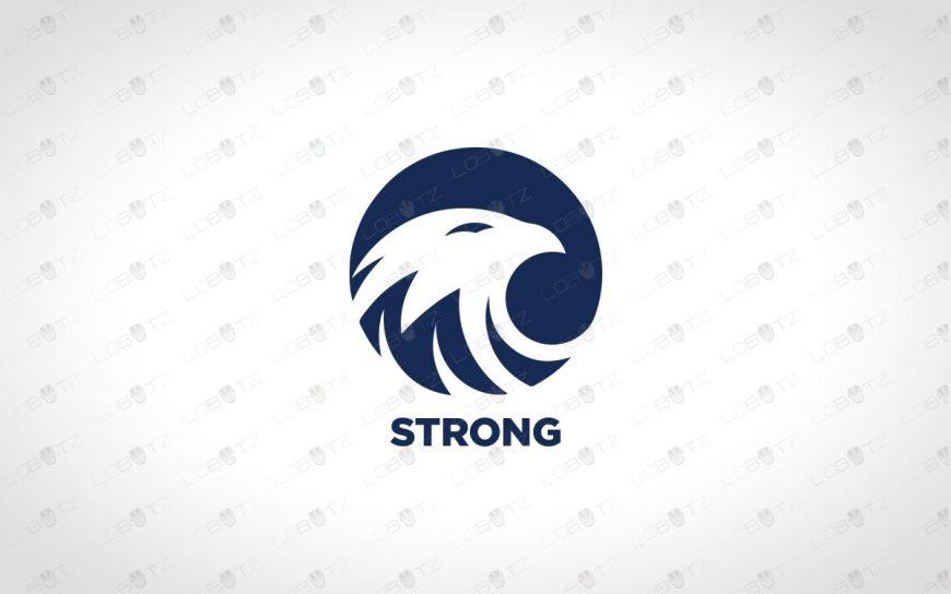Premade Eagle Logo | Eagle Head Logo For Sale